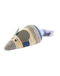 Scratch & Play Navy Mouse Cat Toy