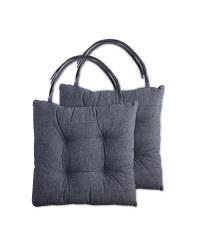 Seat Pads 2 Pack - Denim blue