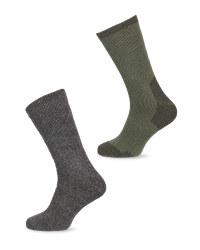 Crane Short Wool Fishing Socks