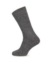 Crane Short Wool Fishing Socks - Grey