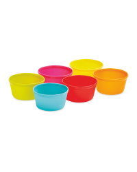 Silicone Cupcake Cases 6 Pack