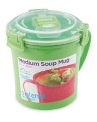 Sistema Soup Mug - Green