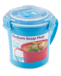 Sistema Soup Mug - Light Blue
