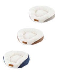 Small Oval Pet Bed
