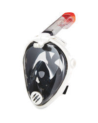 Snorkel Full Face Mask White S/M