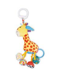 Soft Giraffe Teether Rattle