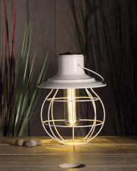 Noma Solar Cage Lantern