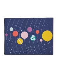 Solar System Kids' Play Rug