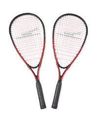 Red Speed Badminton Set