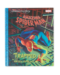 Spiderman Trapped By The Goblin Book
