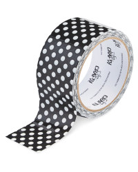 So Crafty Black & White Dot Tape