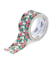 So Crafty Flowers & Flamingos Tape
