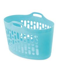 Teal 50L Flexi Laundry Basket