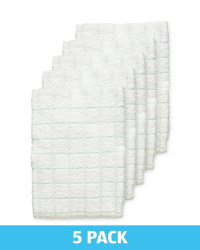 Green Terry Tea Towels 5 Pack