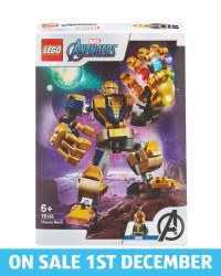 Thanos Mech Lego Set