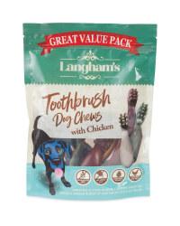 Langham's Meaty DogToothbrush Chews