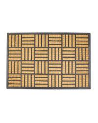 Trellis Rectangle Mega Rib Jumbo Mat