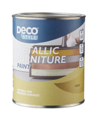 Vintage Metallic Furniture Paint - Gold