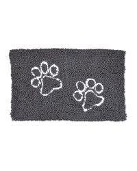 White Paws Dirty Pet Doormat