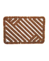 Wiregrate Coir Rectangular Mat