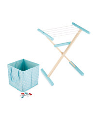 Wooden Airer Set - Mint