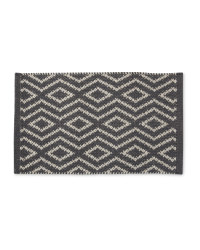 Wool Rich Doormat - Charcoal
