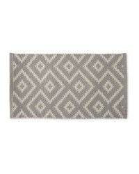 Wool Rich Doormat - Light Grey