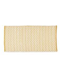 Yellow Decorative Rug