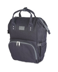 Mamia Baby Change Backpack - Anthracite/Black