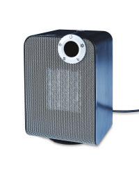 Easy Home Ceramic Fan Heater - Black