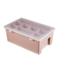 So Crafty Hobby Organiser Box  - Blush Pink