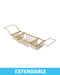 Kirkton House Wire Bath Tray - Gold