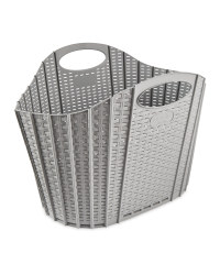 Addis Fold Flat Laundry Basket - Grey