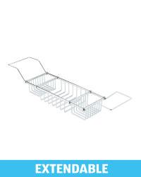 Kirkton House Wire Bath Tray - Silver