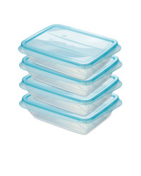Fresh & Freeze Boxes 750ml 4 Pack - Teal