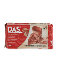 DAS Air Drying Clay 500g - Terracotta