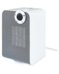 Easy Home Ceramic Fan Heater - White