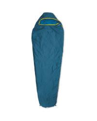 ultra light sleeping bag right - Blue