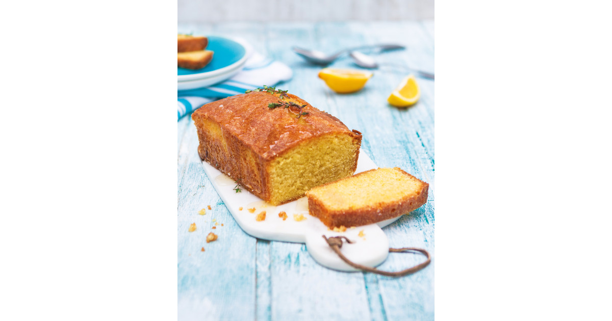 Lemon Drizzle Cake With Thyme Syrup Aldi Ie