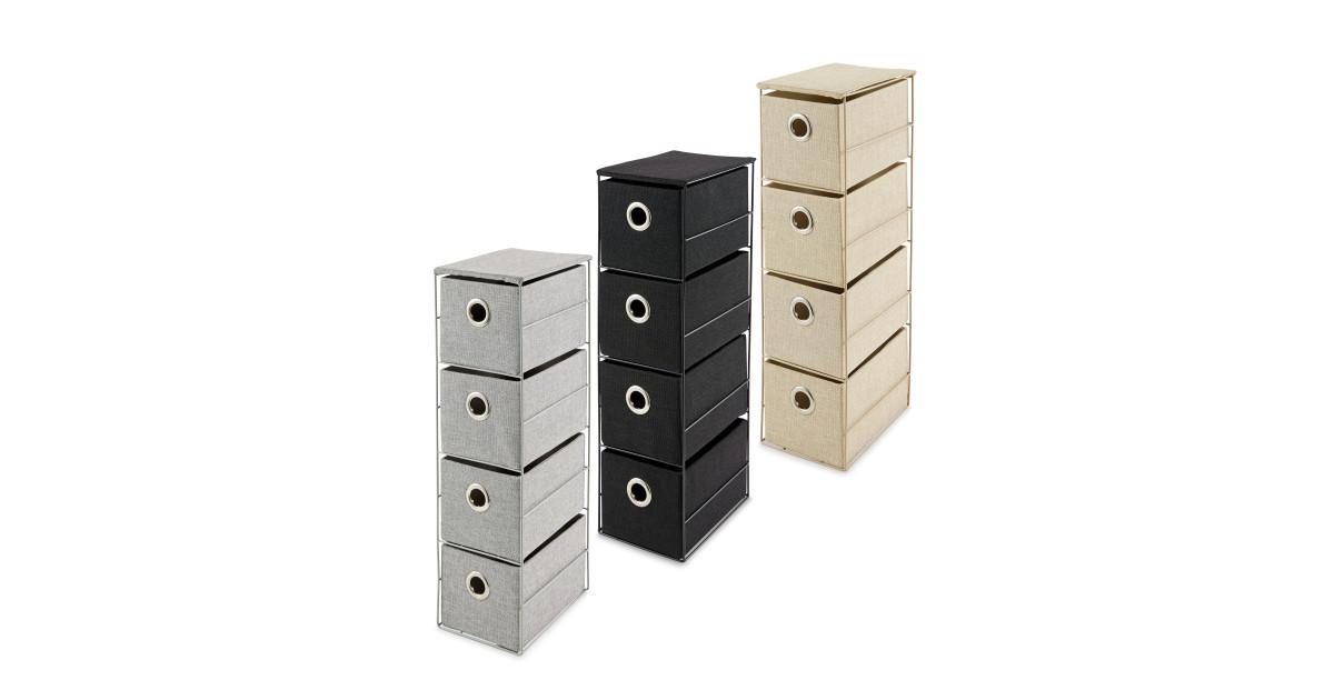4 Drawer Storage Unit Deal at Aldi, Offer Calendar week