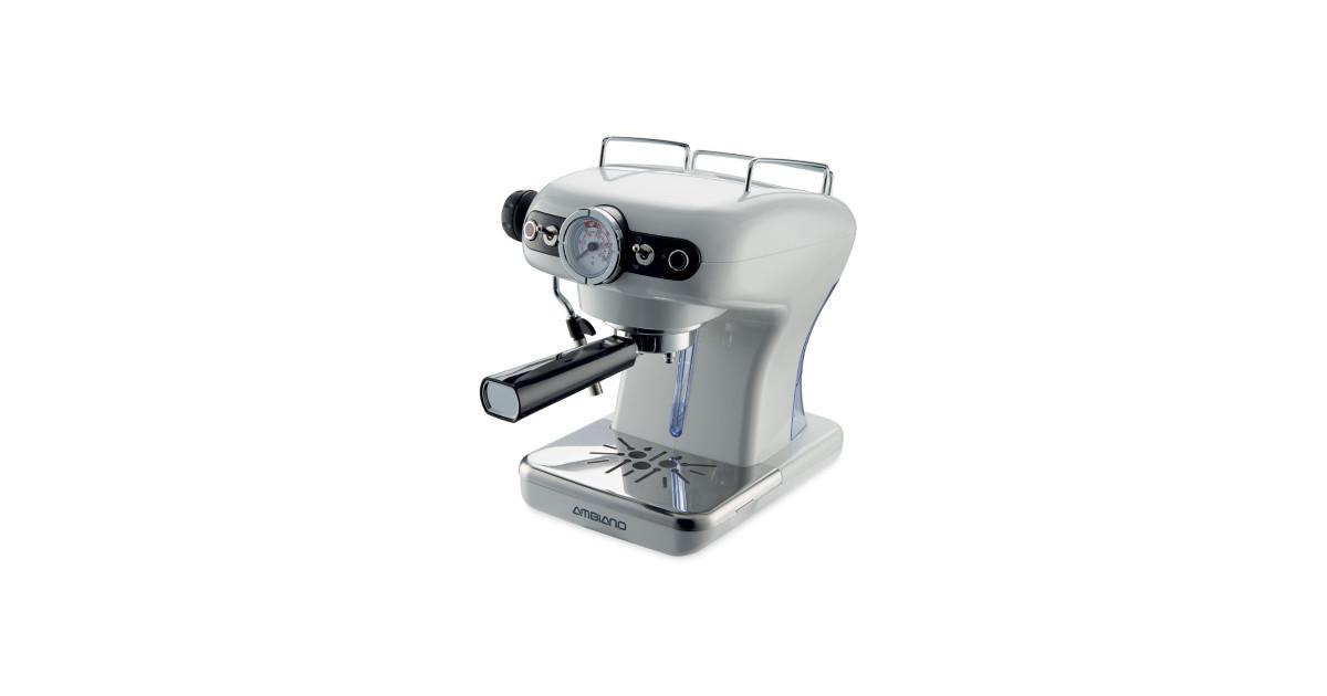 Ambiano Pearlescent Espresso Maker Deal at Aldi, Offer