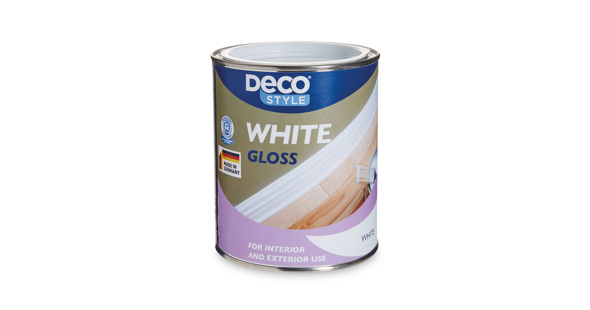 Deco Style White Gloss Paint 750ml Deal At Aldi Offer