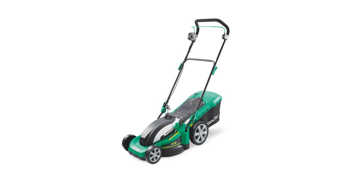 Offer Aldi Gardenline 43cm Electric Lawnmower Aldi