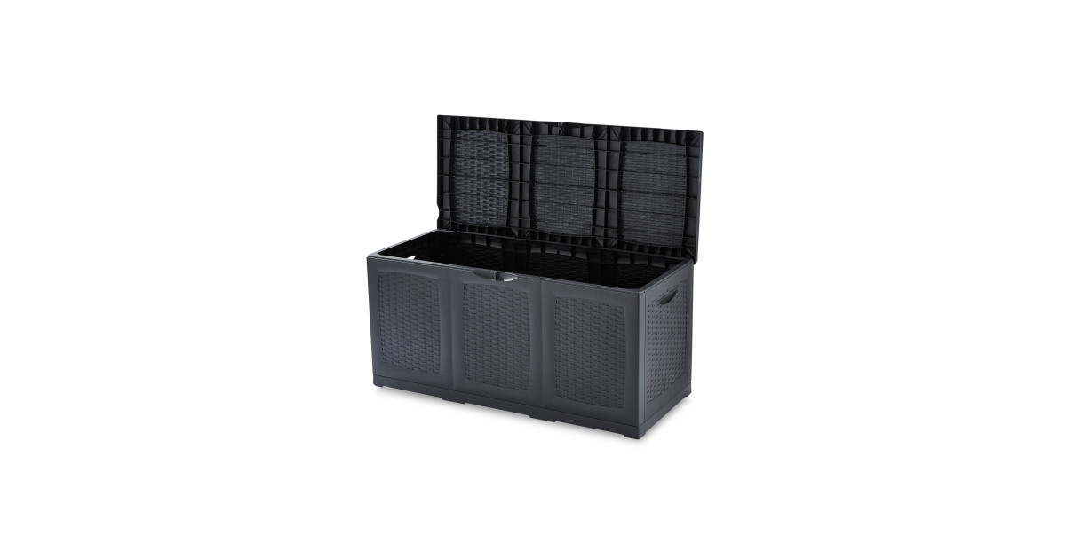gardenline garden storage box deal at aldi offer calendar. Black Bedroom Furniture Sets. Home Design Ideas
