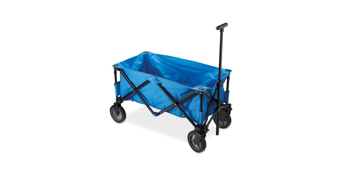 Adventuridge Blue Folding Trolley Deal At Aldi Offer Calendar