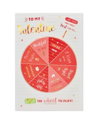 large wheel valentines day card