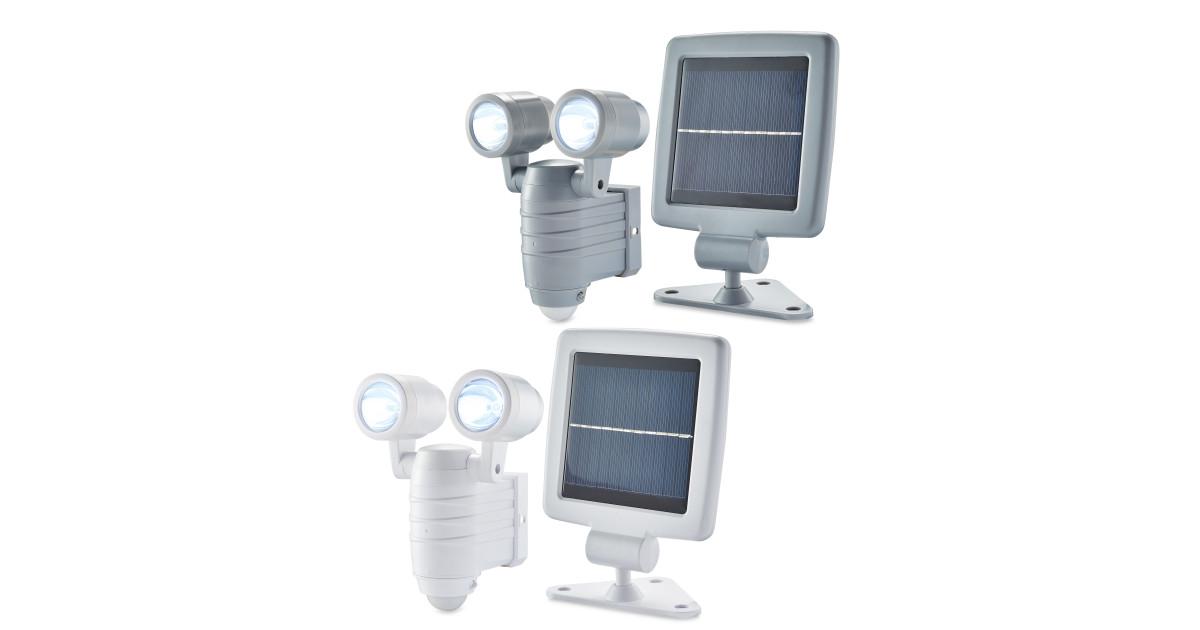 Lightway Solar Led Outdoor Spotlight Deal At Aldi Offer