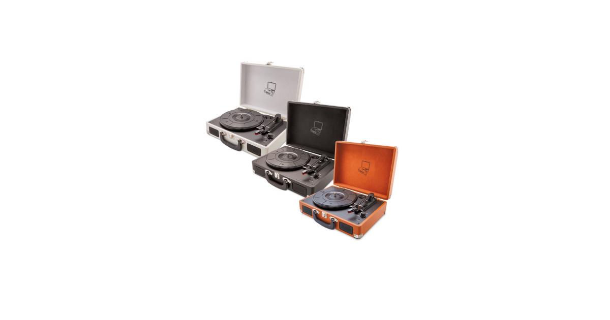 vintage suitcase turntable deal at aldi offer calendar. Black Bedroom Furniture Sets. Home Design Ideas